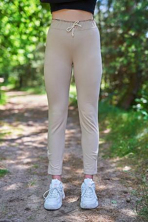 Spodnie - beżowy