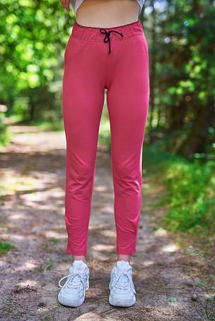 Spodnie - róż indyjski
