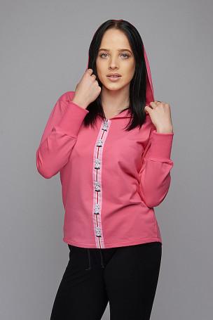 Bluza taśma - różowy